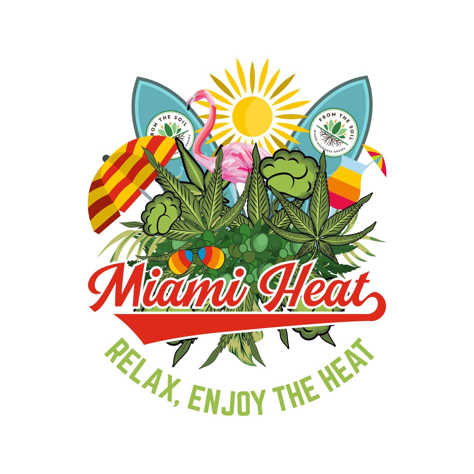 Miami Heat Beach Look