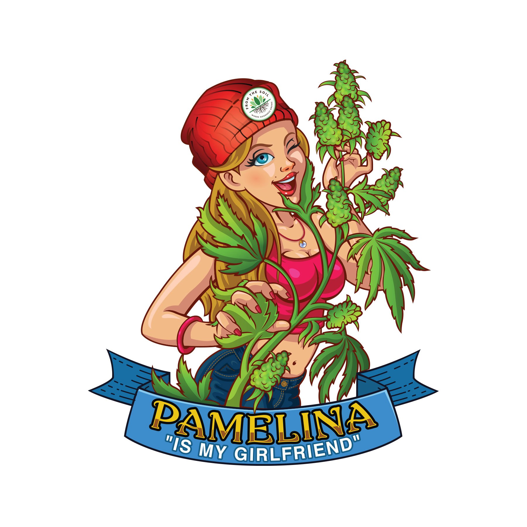 Pamelina is Our Girlfriend...