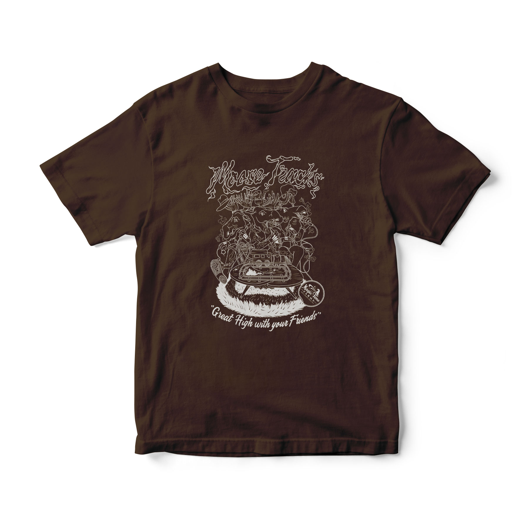 Moose Tracks (Colored Shirt)